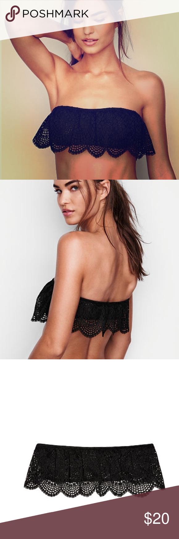 e656182d1a6eb New Victoria s Secret Lace Strapless Bralette Bra