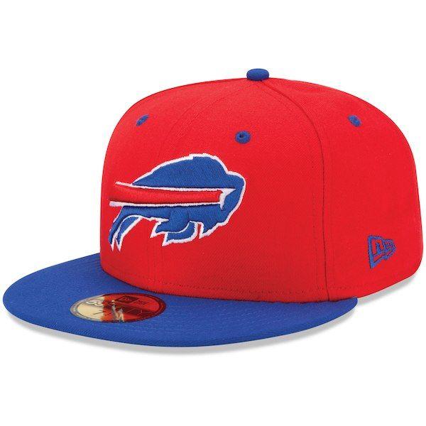 brand new 79a71 adae5 New Era Buffalo Bills 2Tone 59FIFTY Fitted Hat - Red  BuffaloBills