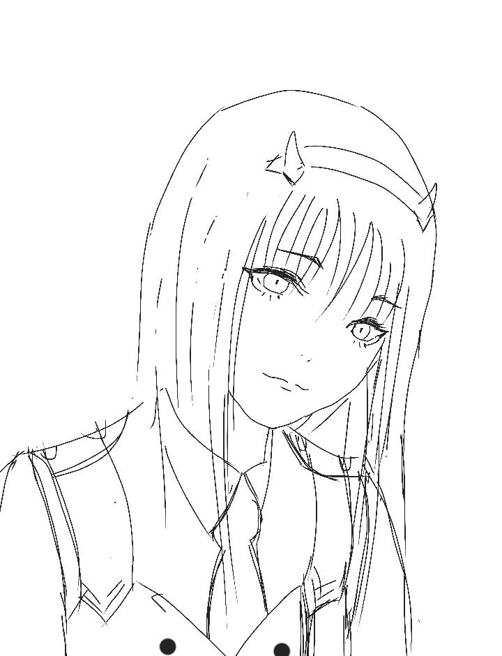 Zero Two Sketch
