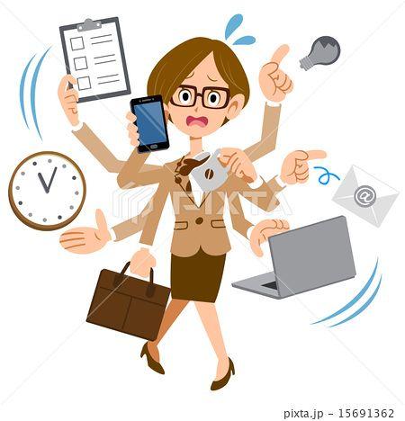 画像 イラスト フリー 働く女性の画像検索結果 本厚木資料 働く