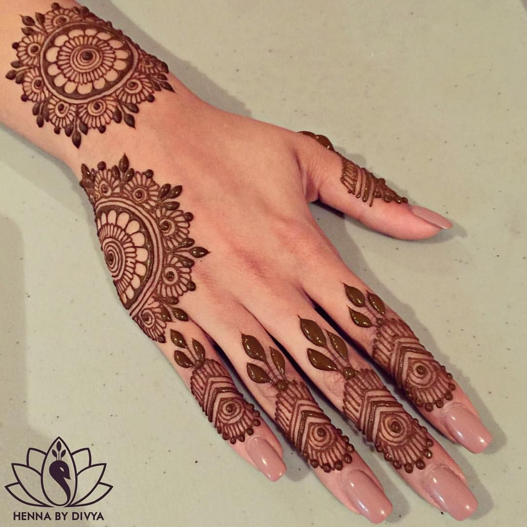 Mehndi Patterns Instagram : See this instagram photo by hennabydivya likes