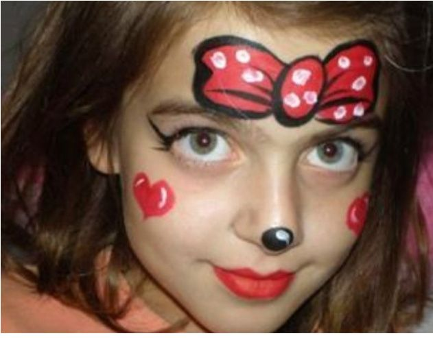 Minie Mouse Maquillages Maquillage Enfant Grimage Maquillage Kermesse