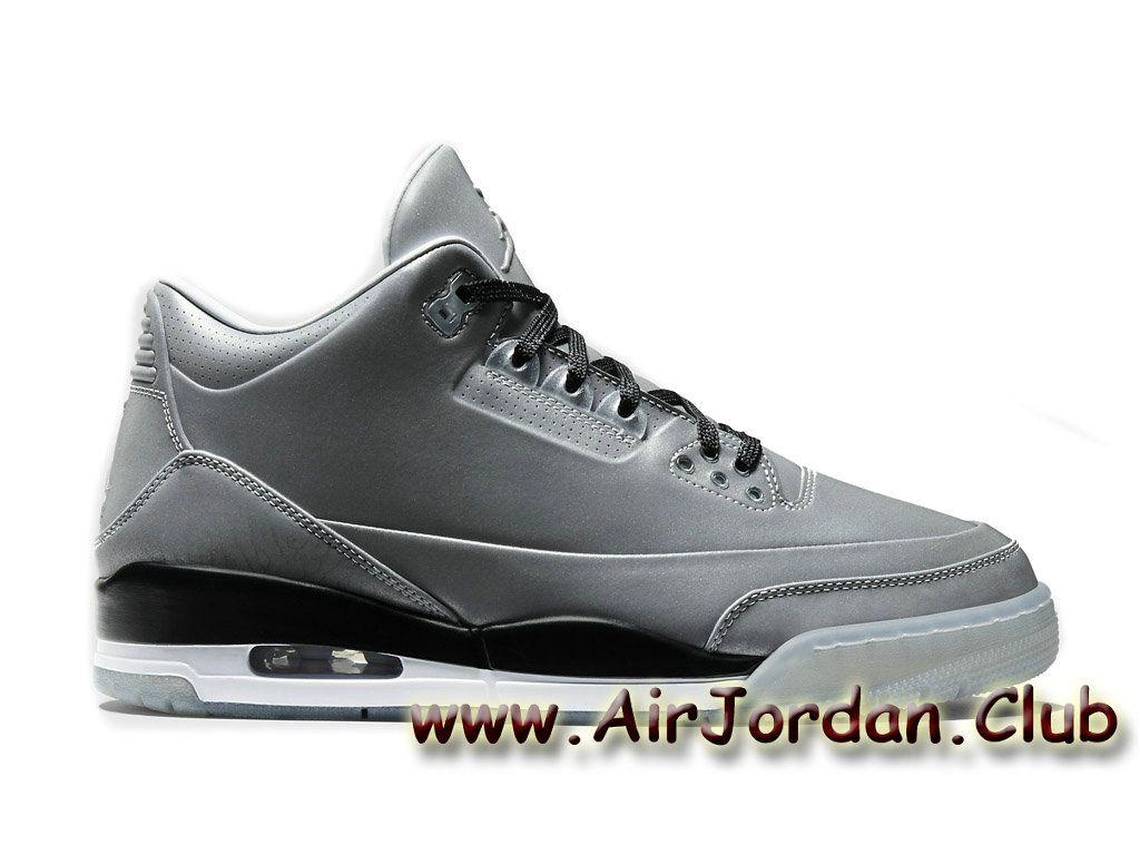 Nike Air Jordan 5LAB3 Reflective Silver 631603 003 Men basketball shoes