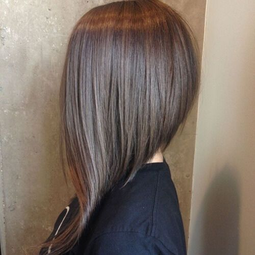 Very Long Asymmetrical Bob Hair Styles Long Bob Hairstyles Long Hair Styles