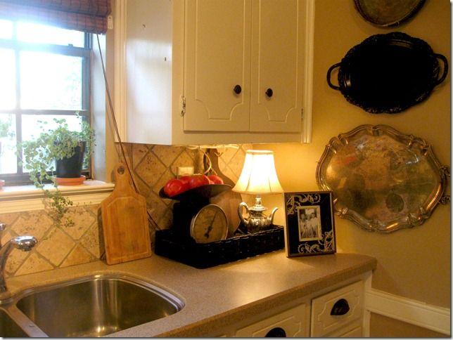 Kitchen Counter Vignettes Google Search Kitchen Vignettes Kitchen Decor White Kitchen Decor