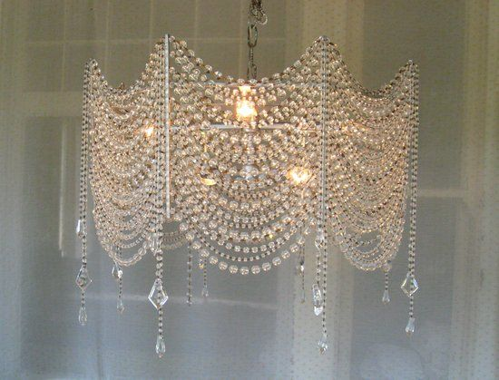 Diy crystal chandelier google search lamparas pinterest diy crystal chandelier google search aloadofball Gallery