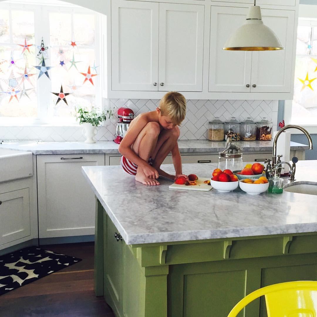 Stephanie Nielson On Instagram He S Like A Blonde Monkey Kitchen Glass Stars Home Decor