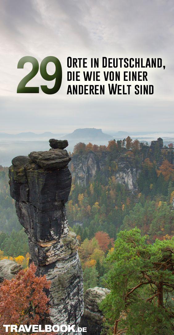 29 lugares en Alemania que son como de otro mundo