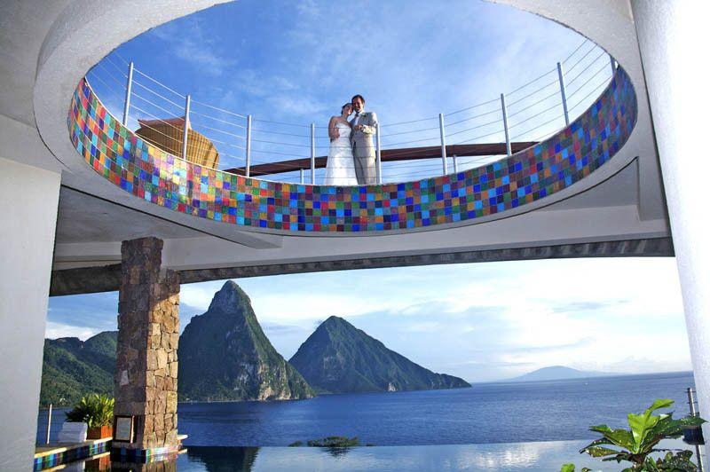 Jade Mountain St Lucia Infinity Pool Every Room 17