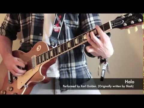 Halo Instrumental Cover SLASH GUITAR/BASS/DRUMS (Karl Golden
