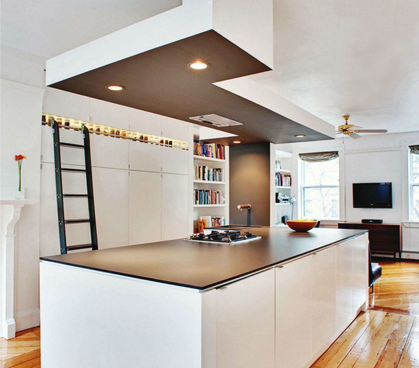 Travail Kitchen: Kitchen Is Made Of IKEA Cabinets And A Trespa Countertop