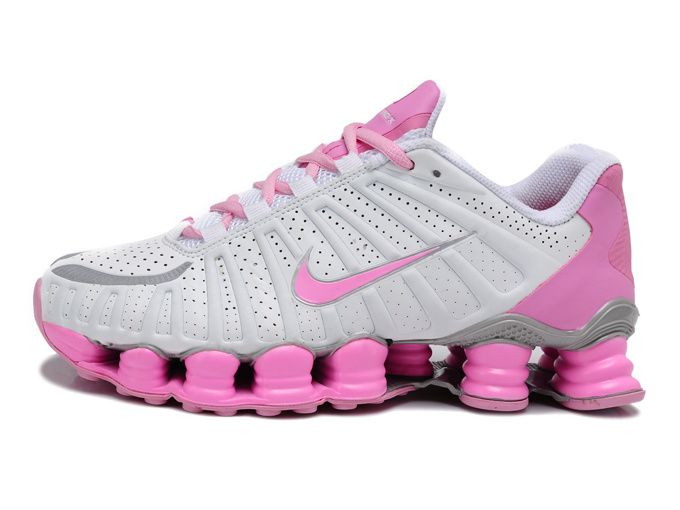 brand new 52125 59741 Nike Shox TLX White Pink | Nike in 2019 | Nike shox for women, Nike ...