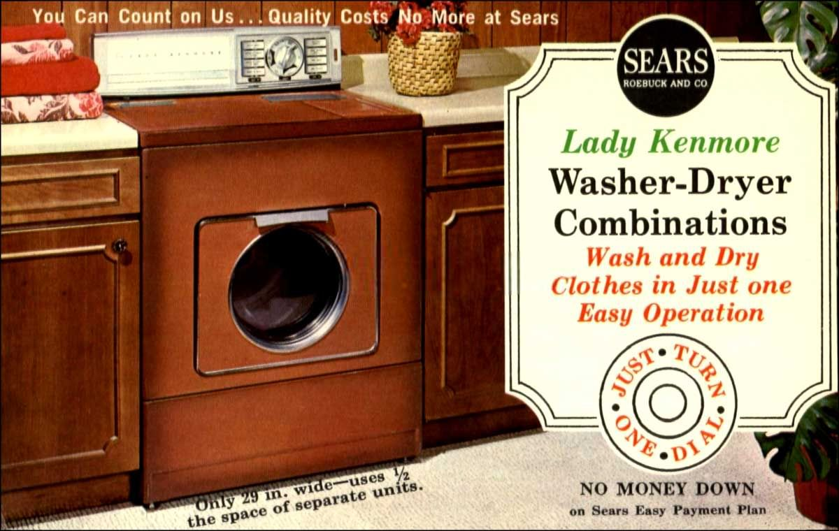 This Color Was Called Coppertone Kenmore Washer Dryer Machine Vintage Toys