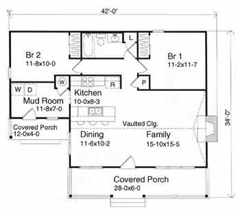 Small Log Cabin Floor Plans cabin kits weekend cabin kit