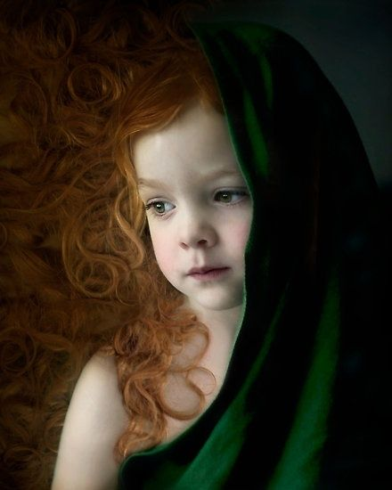 Beautiful little redhead