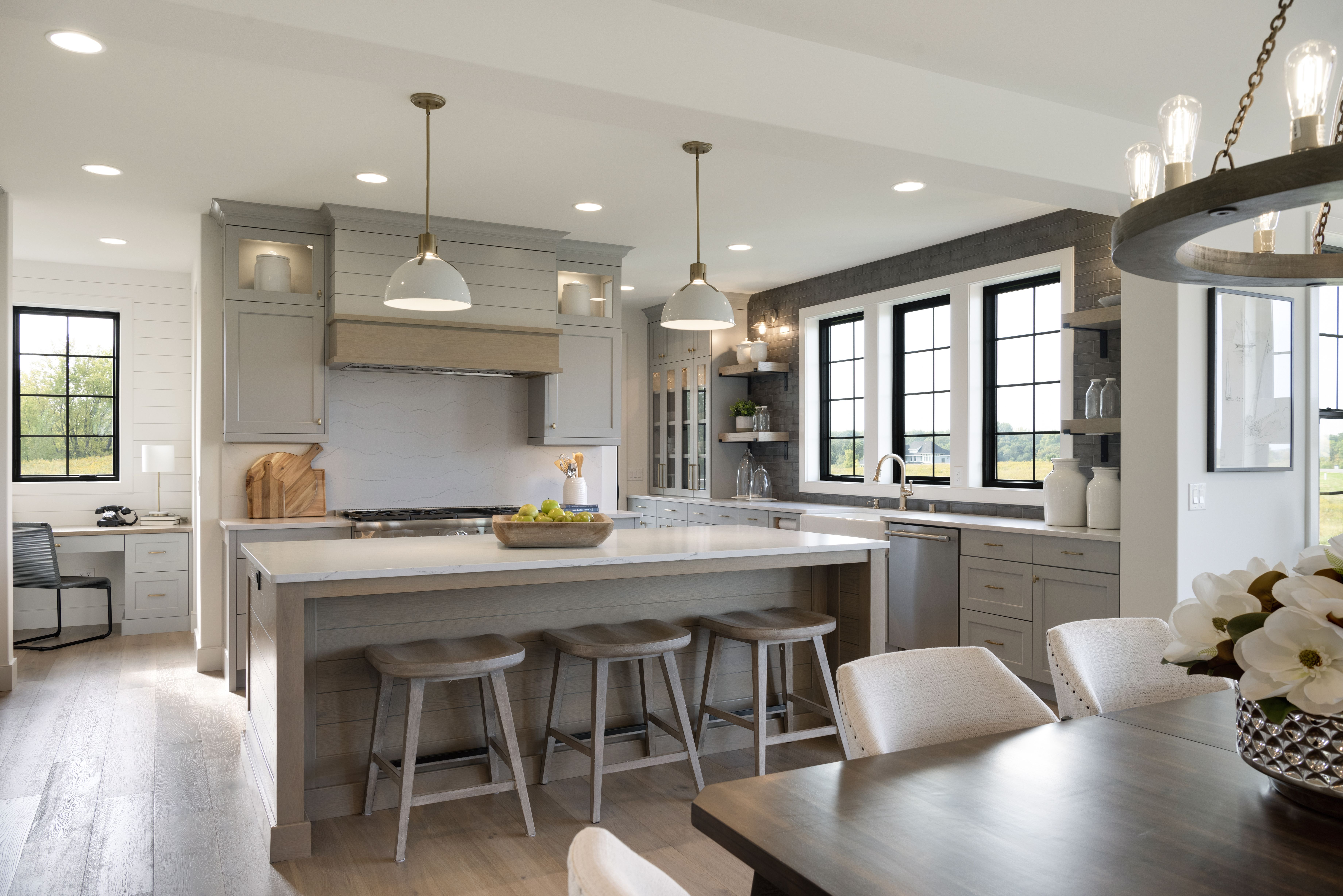 Custom Kitchen Open Concept Homes By Tradition With Images