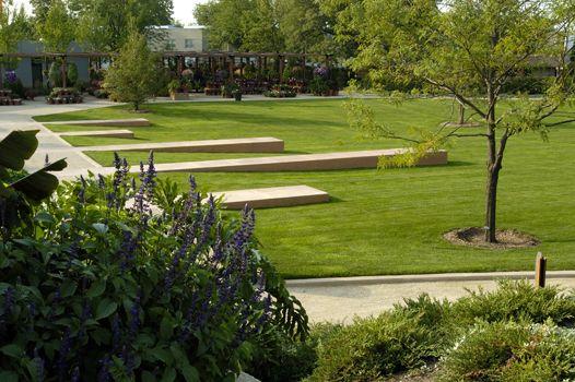 Ball Horticultural Company Corporate Campus Hoerr Schaudt Landscape Architects Landscape Architecture Landscape Architect Landscape Design