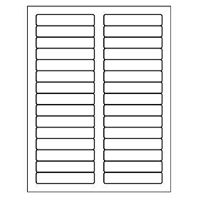 Free avery template for microsoft word filing label 5066 for Avery 5166 template