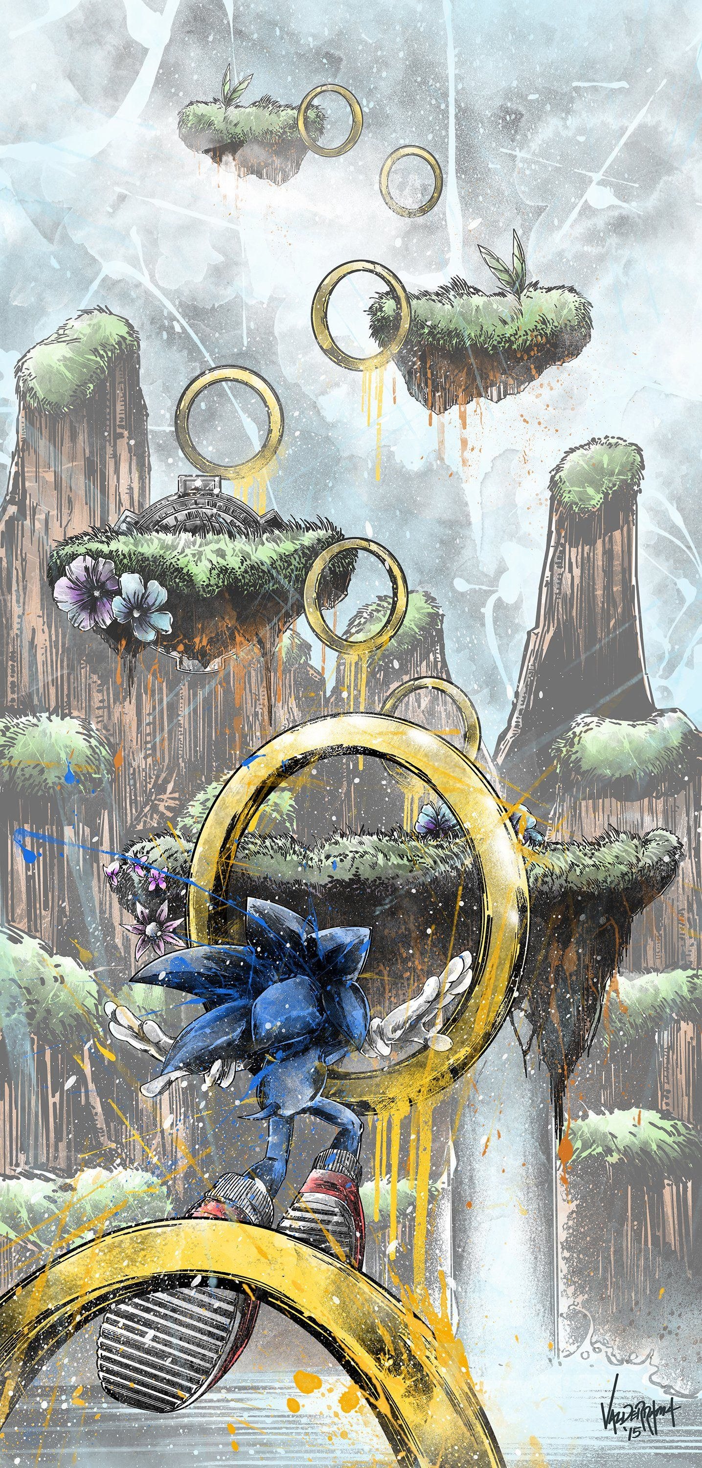"""""""Obstacle Course"""" Inspired by Sonic the Hedgehog / Fresh"""