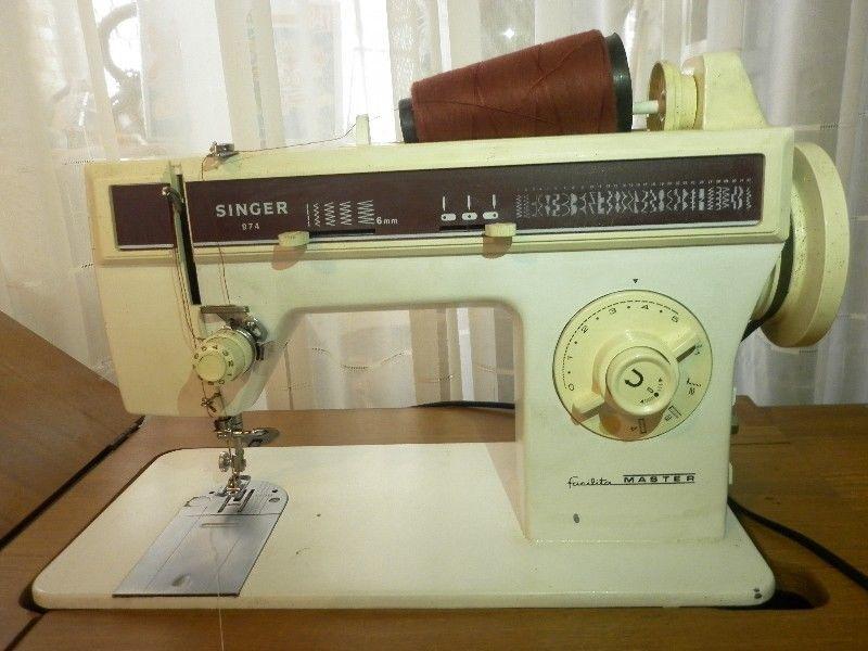 Singer 974 facilita master fue uno de los primeros modelos for Que es un canape mueble