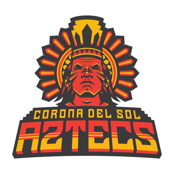 Corona Del Sol Aztecs On Behance Sports Logo Inspiration Sports Logo Design Sports Team Logos