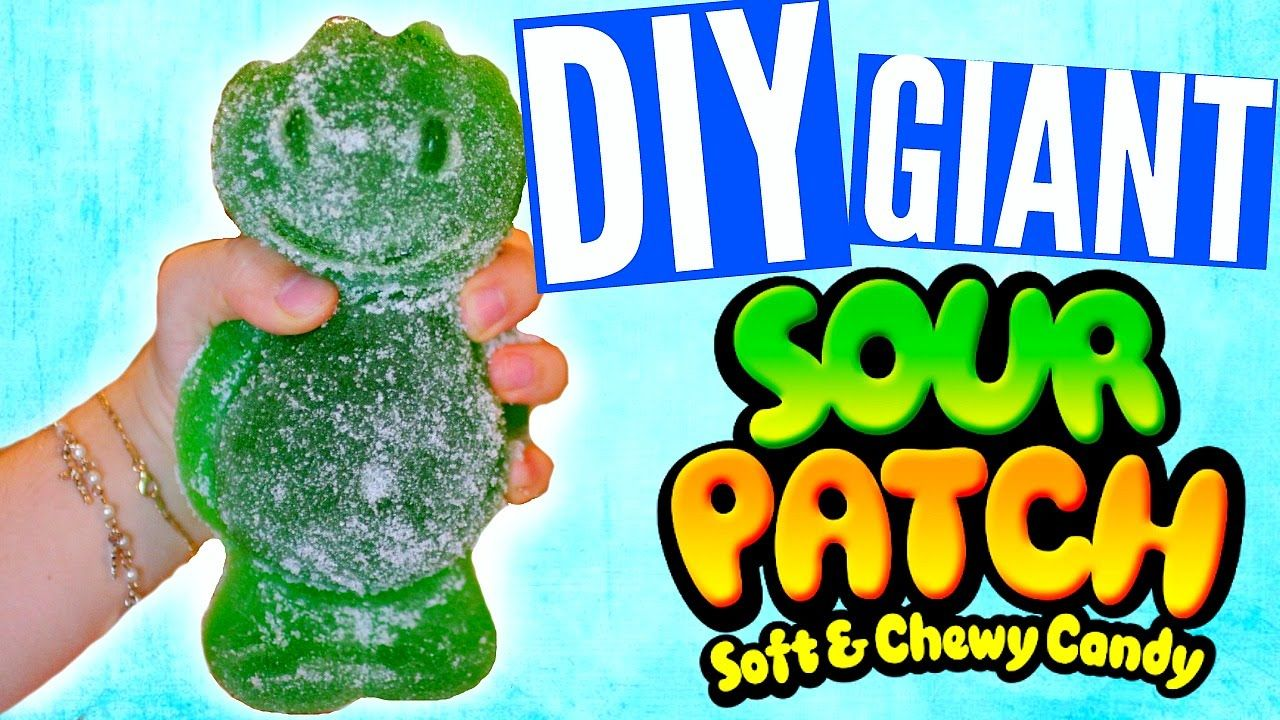 Diy Giant Sour Patch Kid World S Largest Sour Patch Kid Sour Patch Kids Sour Patch Sour Patch Kids Gift