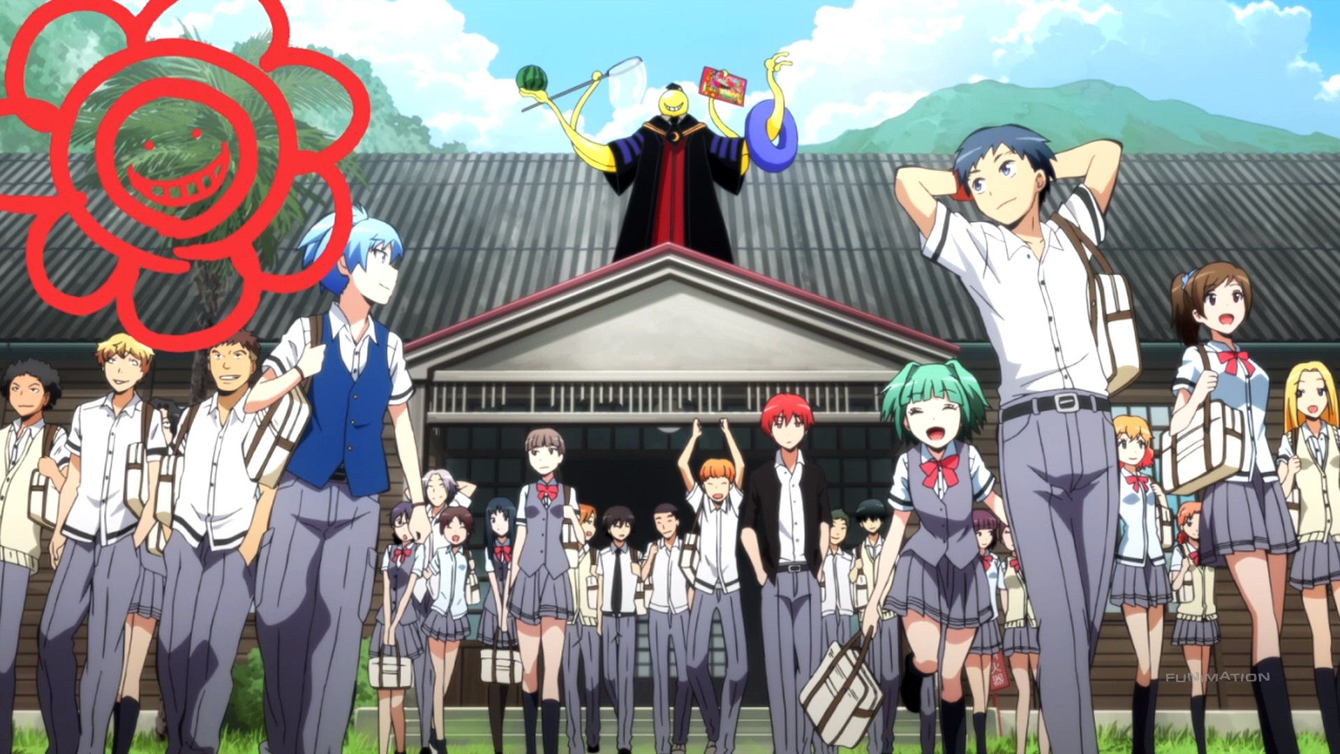 1920x1080 Anime Wallpapers Assasination Classroom HD 4K