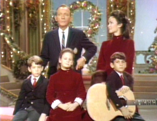 kathryn crosby her lovely christmas dresses edelweiss patterns bing and - Bing Crosby Christmas Special