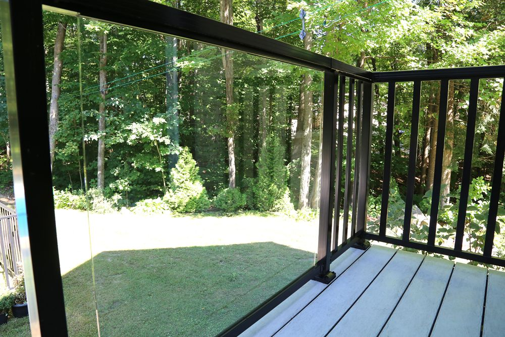 Best Gallery Glass Panels Aluminum Railing Railing 400 x 300