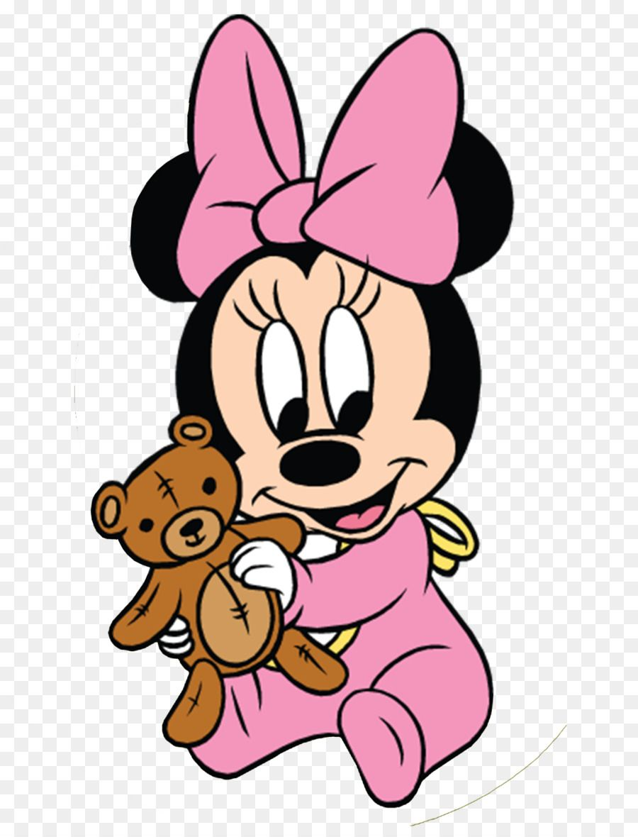 Minnie Mouse Mickey Mouse Infant Clip Art Minnie Mouse Baby Png Is About Is About Pink Love Teddy Arte Do Mickey Mouse Filhote Rato Imagens Do Mickey Mouse