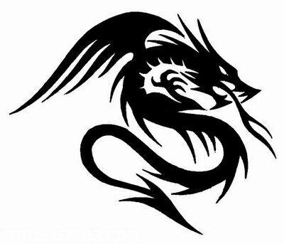 Dragon Dibujo Lineal Pinterest Tattoos Tribal Tattoos Y