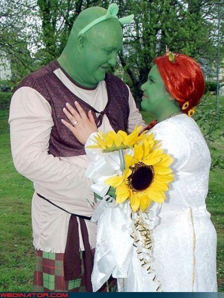 Shrek Wedding In 2020 Shrek Wedding Wedding Themes Unique Letterpress Wedding