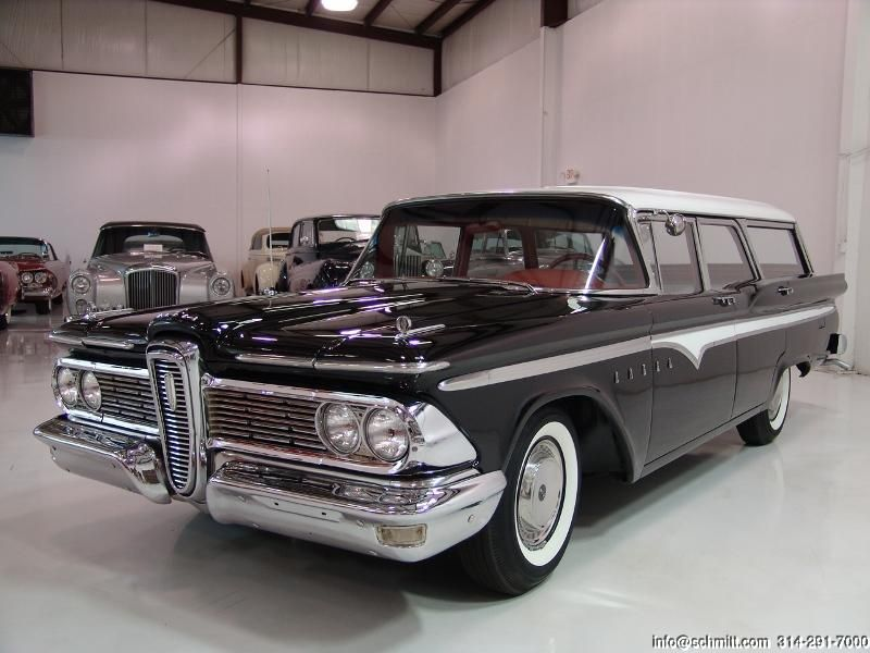 1959 Edsel Villager Station Wagon For Sale In St Louis Missouri Station Wagon Edsel Classic Cars