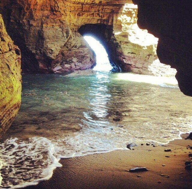 Hike To A Secret Sea Cave At Cabrillo National Par