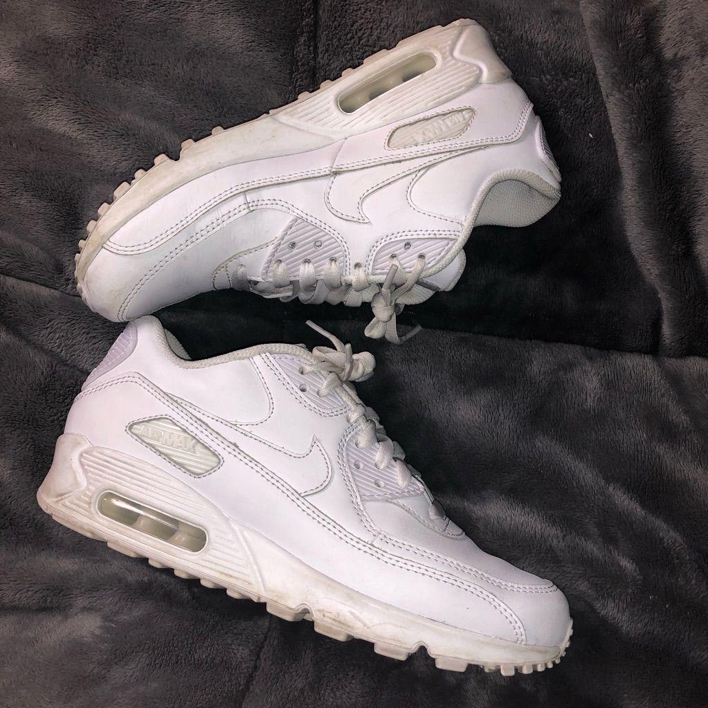 nike air max 90 white womens size 7