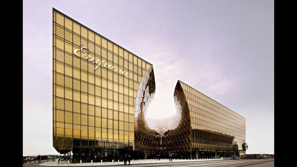 Emporia, um espaço para comércio projetado pelo escritório de arquitetura Wingårdh Arkitktkontor AB.