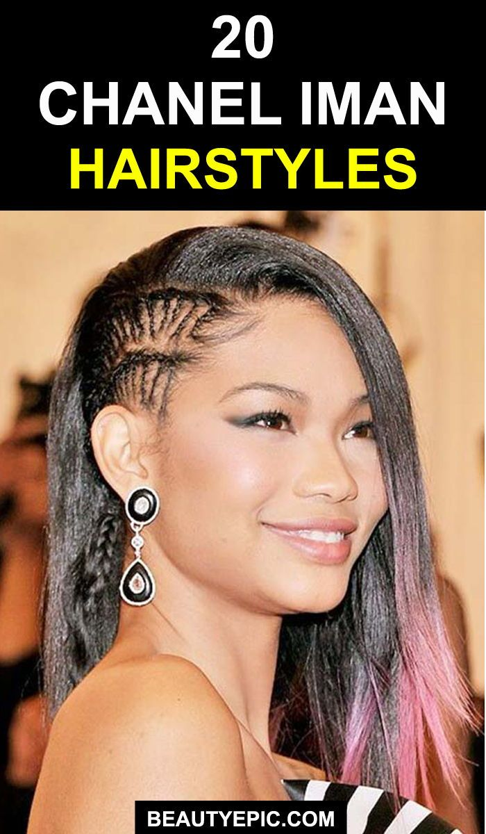 trendy chanel iman hairstyles u haircuts that will inspire you