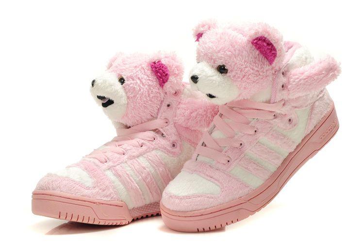 Jeremy Scott Teddy Bear Shoes Pink