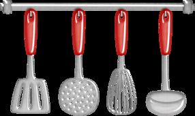 Tborges Cookinttime Measuringspoons Minus Kitchen Clipart