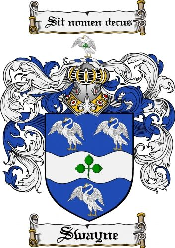 Swayne Coat of Arms Swayne Family Crest Instant Download - for sale, $7.99 at Scubbly