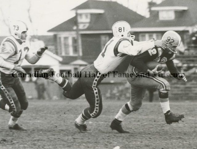 Ottawa Rough Riders and the Hamilton Tiger-Cats 1958. Canadian Football  Hall of Fame. 476b3c32b