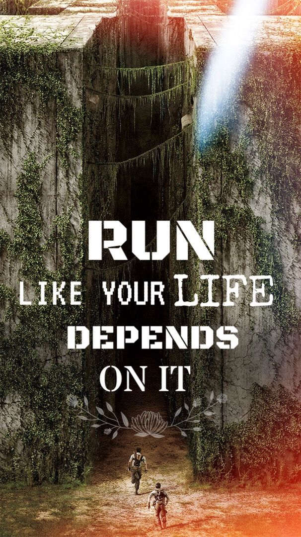 Maze Runner Quotes Wallpaper I Created #wallpapers #mazerunner #quotes  Maze .