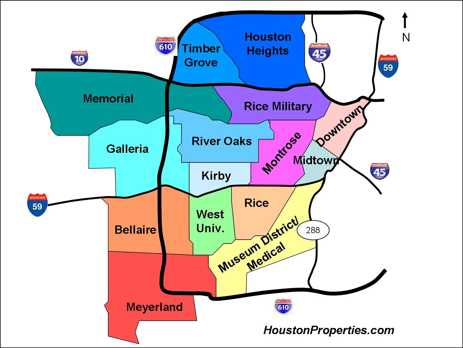 Houston Zip Code Map. Good to know! | Genius | Pinterest | Houston ...