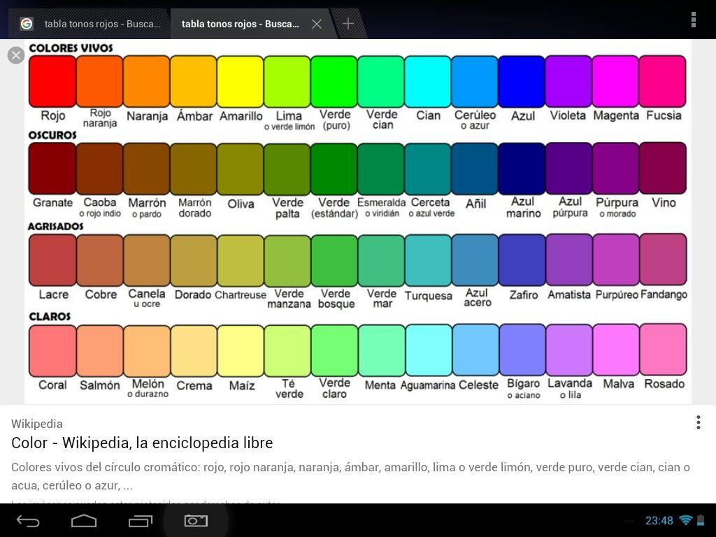 Pin de javi en colores pinterest color - Que colores pegan ...