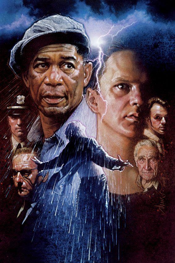 The Shawshank Redemption By Drew Struzan Jpg 566 850 Posteres