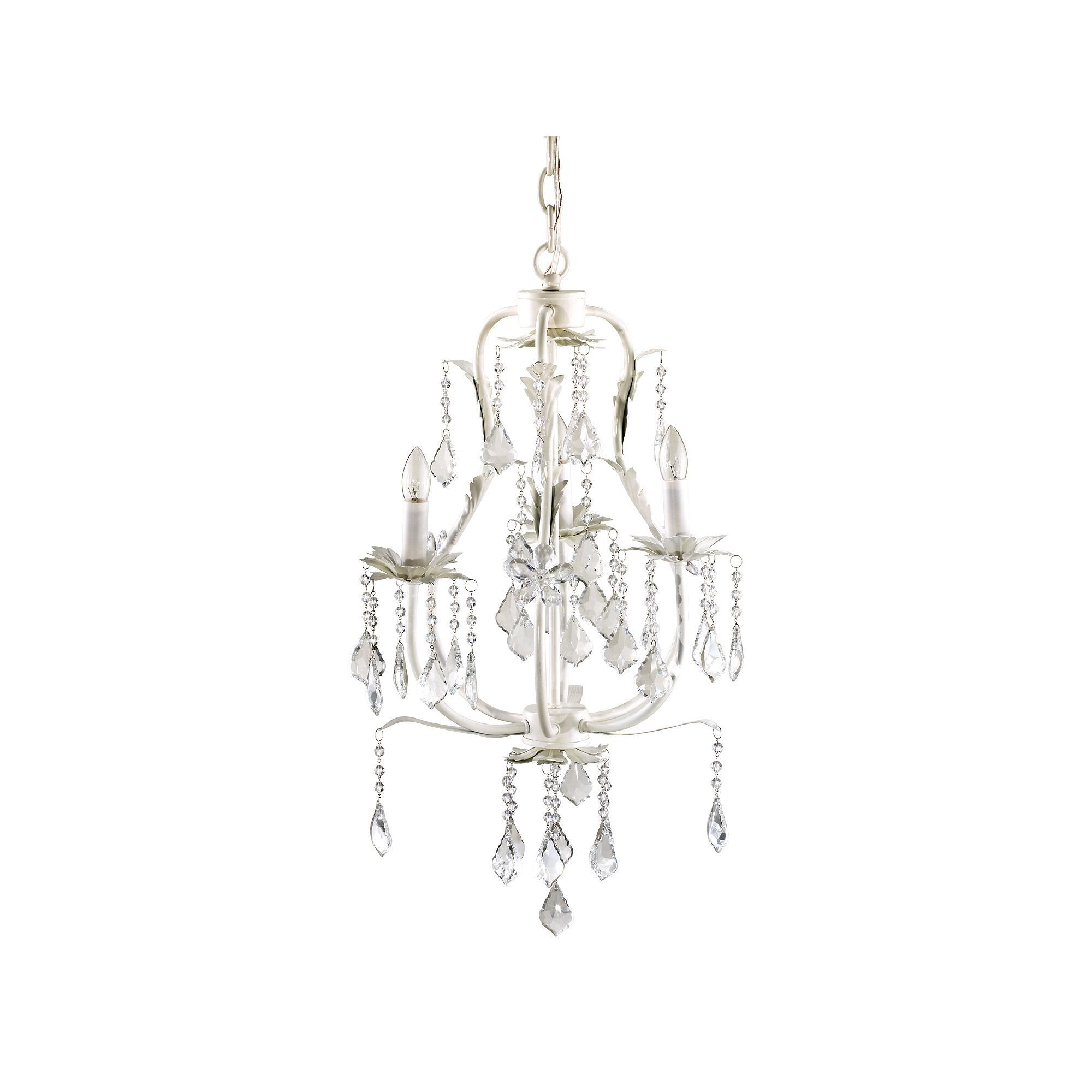 Cocalo Baby 3 Bulb Chandelier White