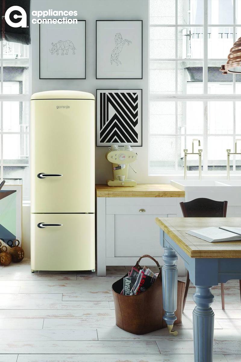 Chambers Crbr2412cr 2 399 00 Retro Refrigerator Home Kitchens Bottom Freezer Refrigerator
