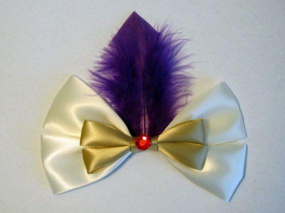 Prince Ali Hair Bow Aladdin Disney Inspired by bulldogsenior08, $8.50