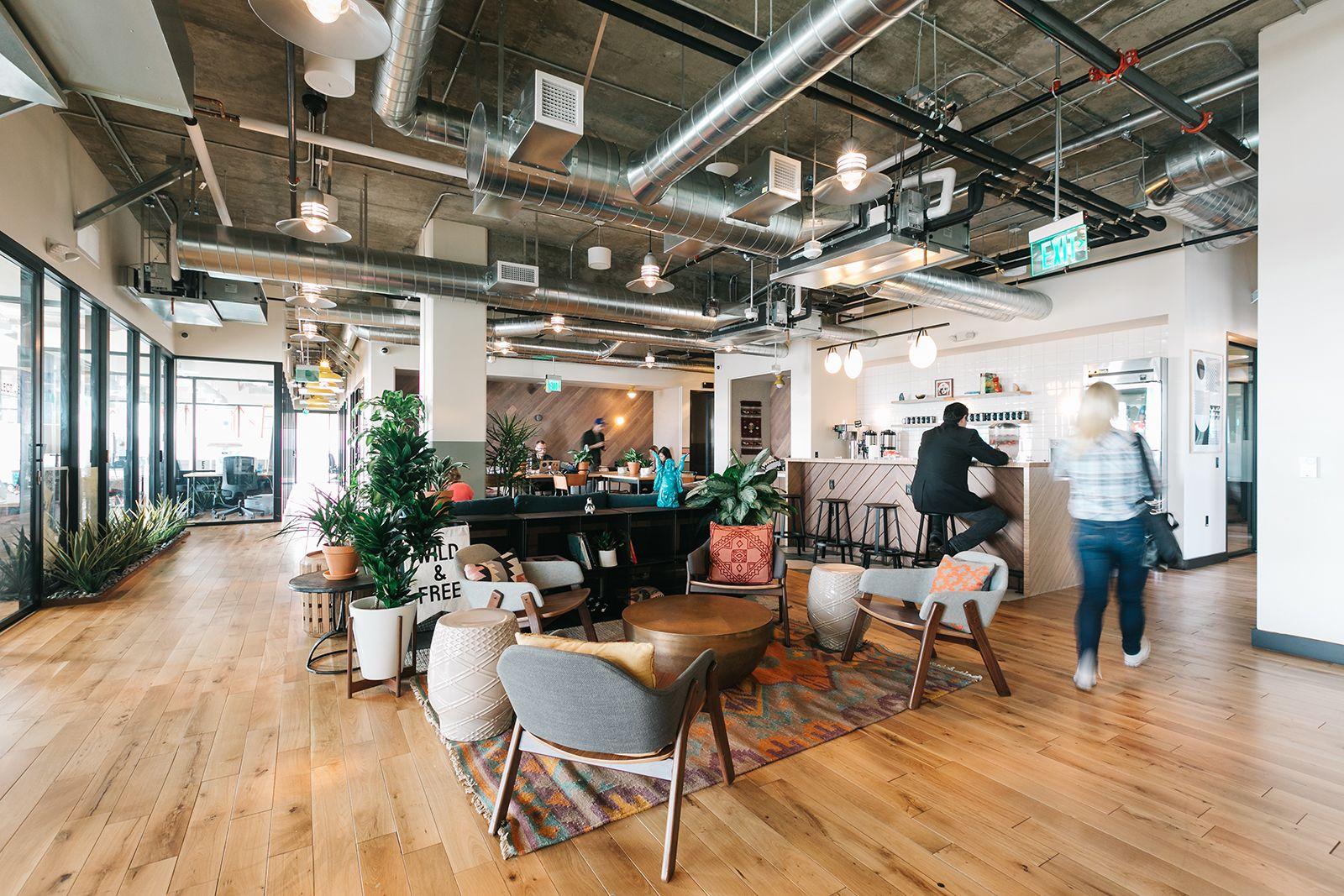 A Peek Inside WeWork - La Brea   Coworking