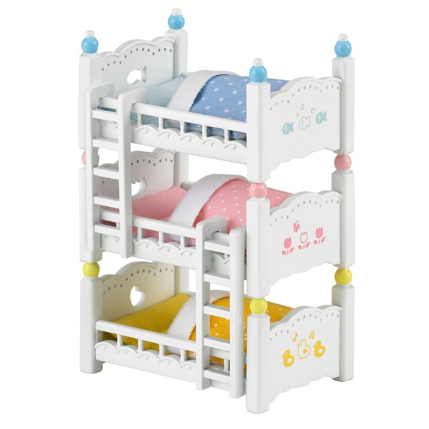 Image Result For Sylvanian Families Triple Bunk Beds Eve S Wish